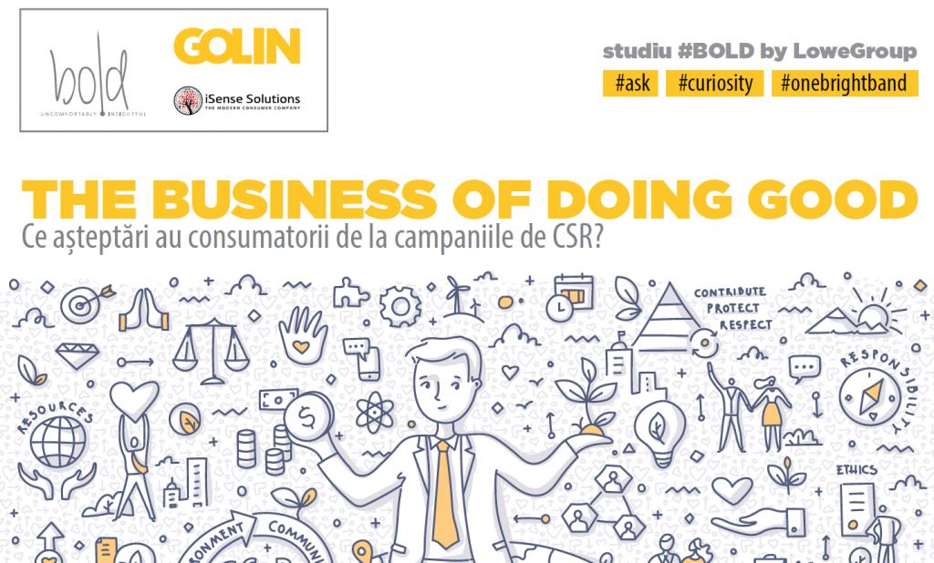 Image for Golin & iSense Solutions: Cât de mult contează responsabilitatea socială a companiilor pentru consumatorii români?