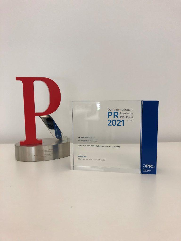 Image for Internationaler Deutscher PR Preis für Fellowes Kampagne