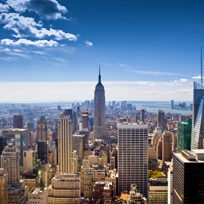 londen naar new york