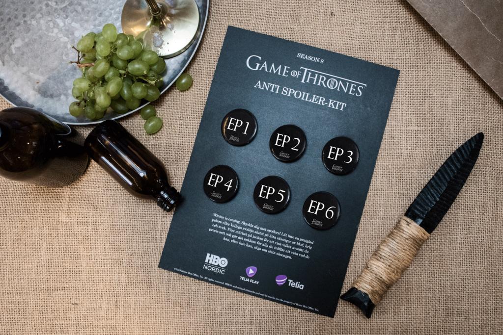 Image for Telia: Game of Thrones Anti-Spoiler Kit