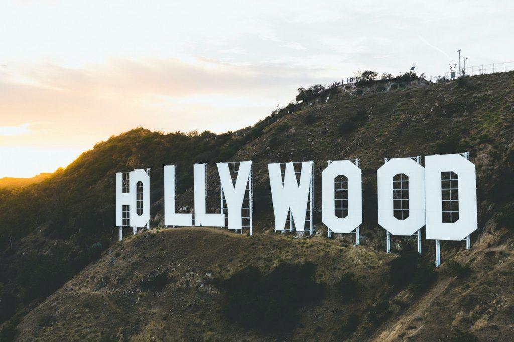 hollywood sign on hillside